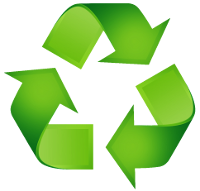 green recycling symbol 1